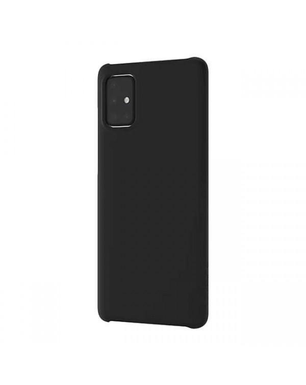 Samsung - Premium Hard Case Black for Samsung Galaxy A51