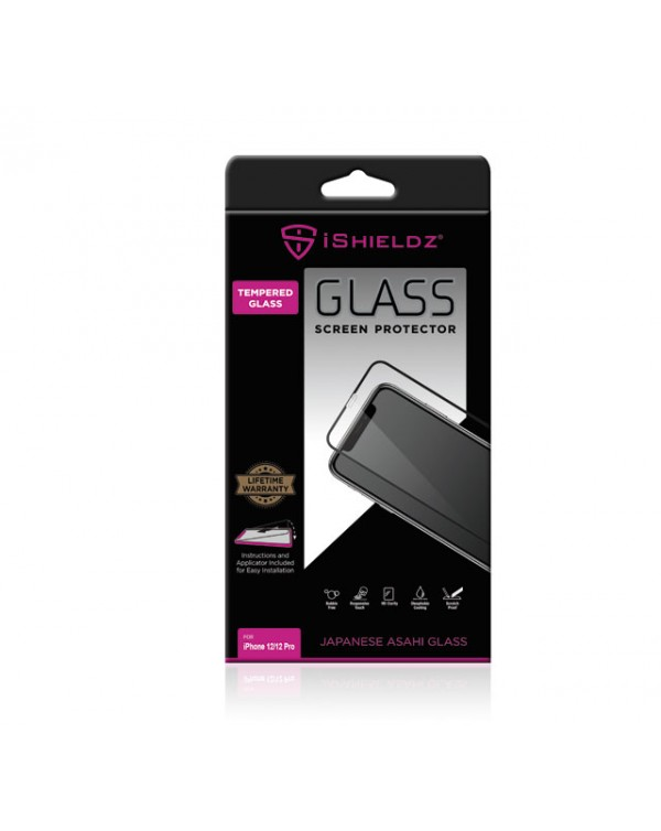 Apple IPhone 12 / 12 Pro IShieldz Tempered Glass Screen Protector