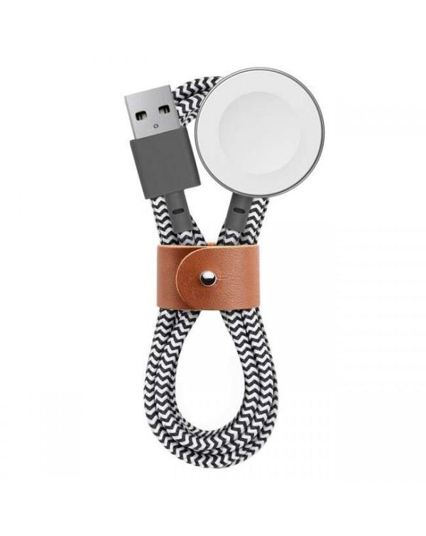 Belt Magnetic Сharging Сable 4ft Zebra for Apple Watches