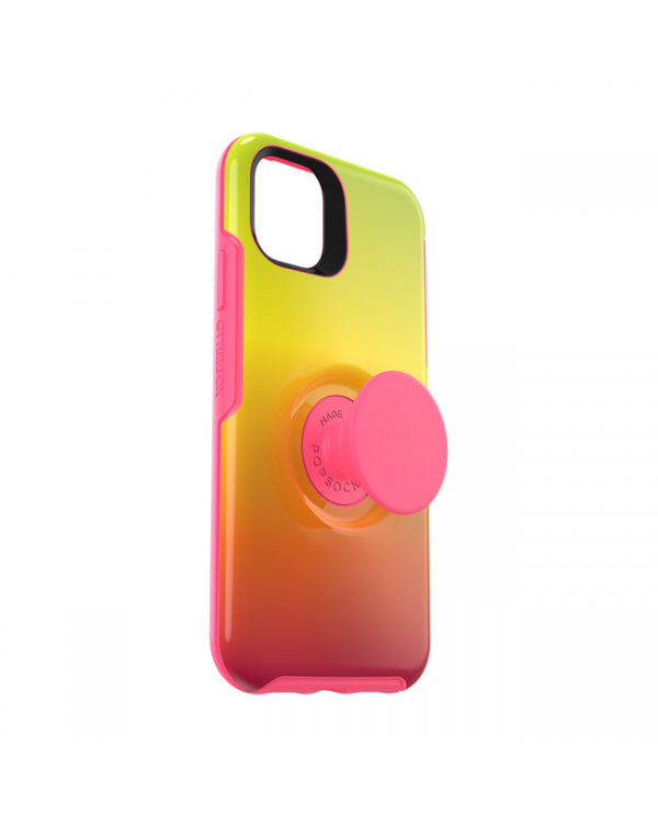 Otterbox - Otter + Pop Symmetry Case with Swappable PopTop Island Ombre for iPhone 11
