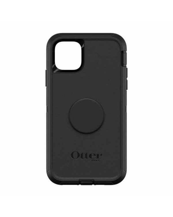 Otterbox - Otter + Pop Defender Case with Swappable PopTop Black for iPhone 11 Pro Max