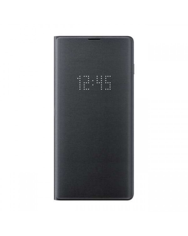 Samsung - LED View Cover Case Black for Samsung Galaxy S10e