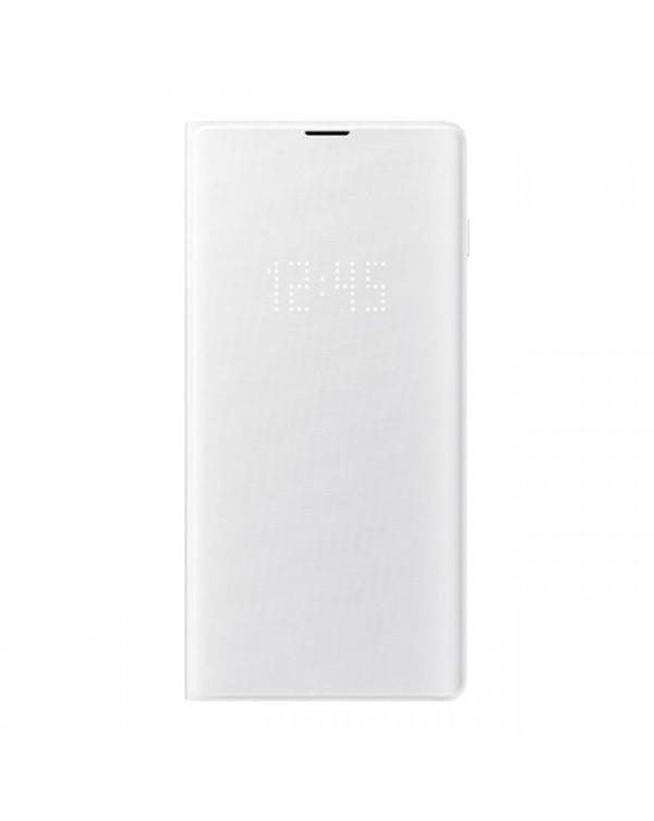 Samsung - LED View Cover Case White for Samsung Galaxy S10e