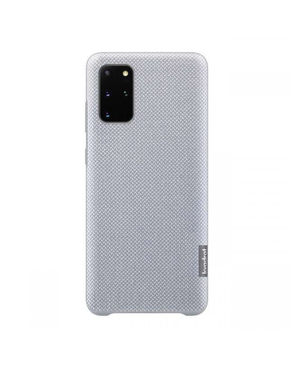 Samsung - Kvadrat 100% Recycled Polyester Case Gray for Samsung Galaxy S20+