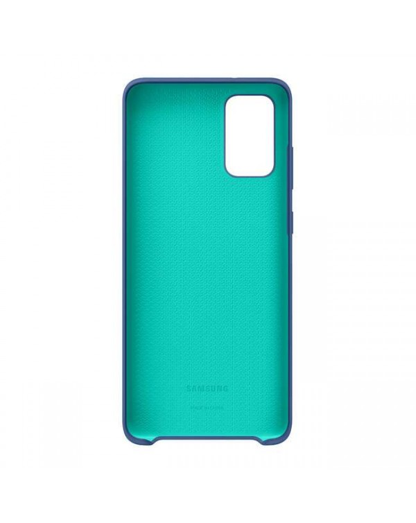 Samsung - Silicone Cover Case Blue for Samsung Galaxy S20+