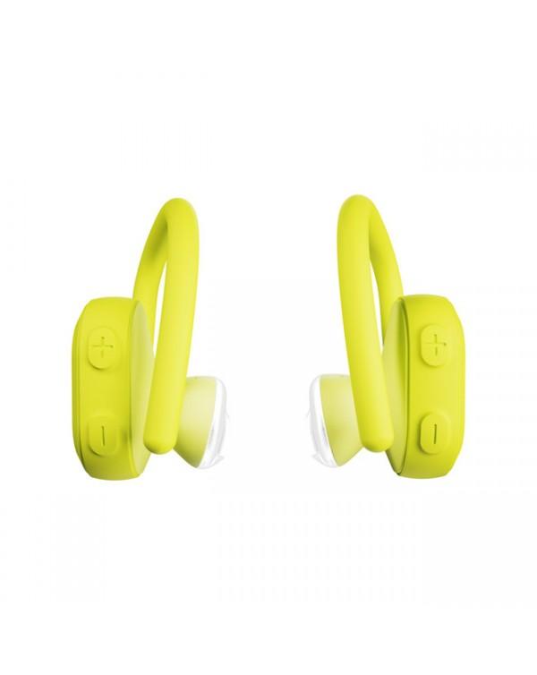 Skullcandy - Push Ultra True Wireless Earbuds Electric Yellow