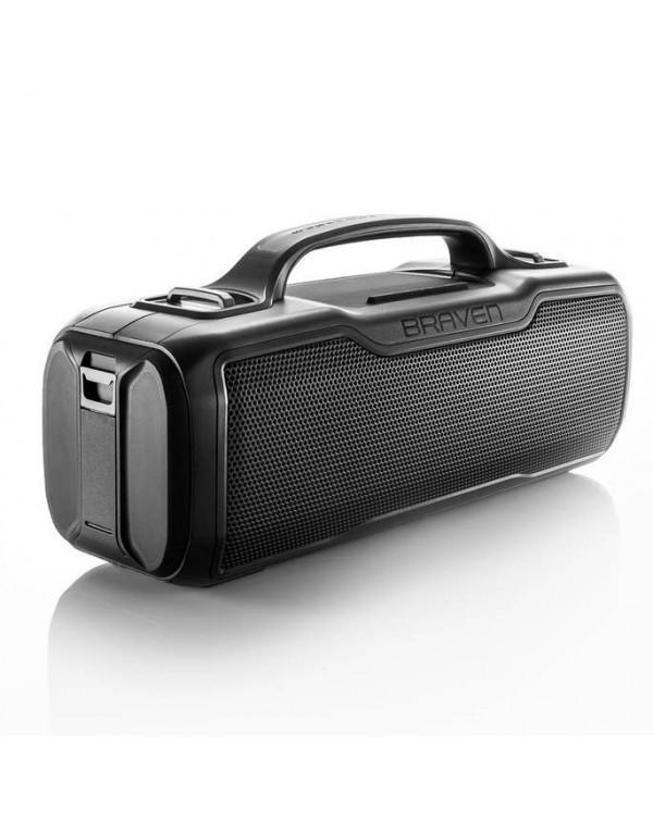 BRAVEN BRV-XL Rugged Portable Bluetooth Speaker (Gray)