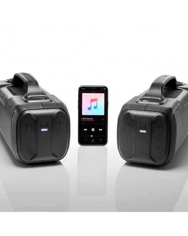 BRAVEN BRV-XL Rugged Portable Bluetooth Speaker (Black)