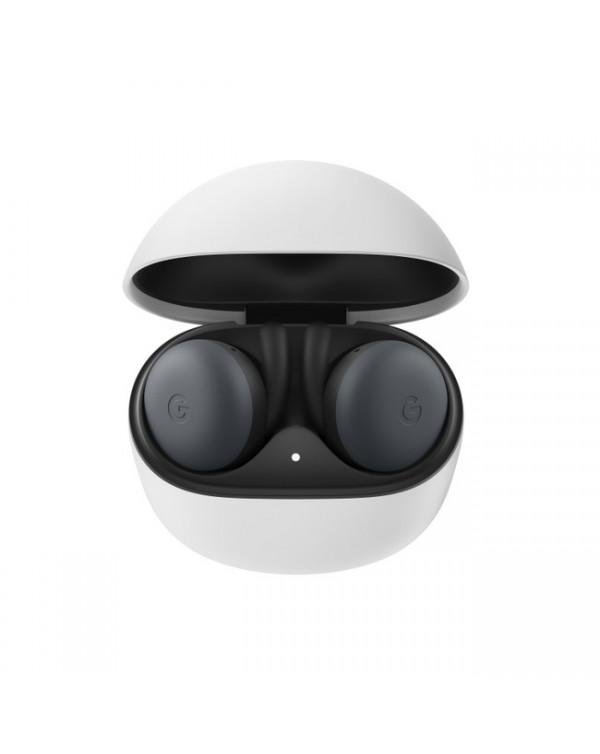 Google - Pixel Buds Headphones with Wireless Charging Case Almost Black
