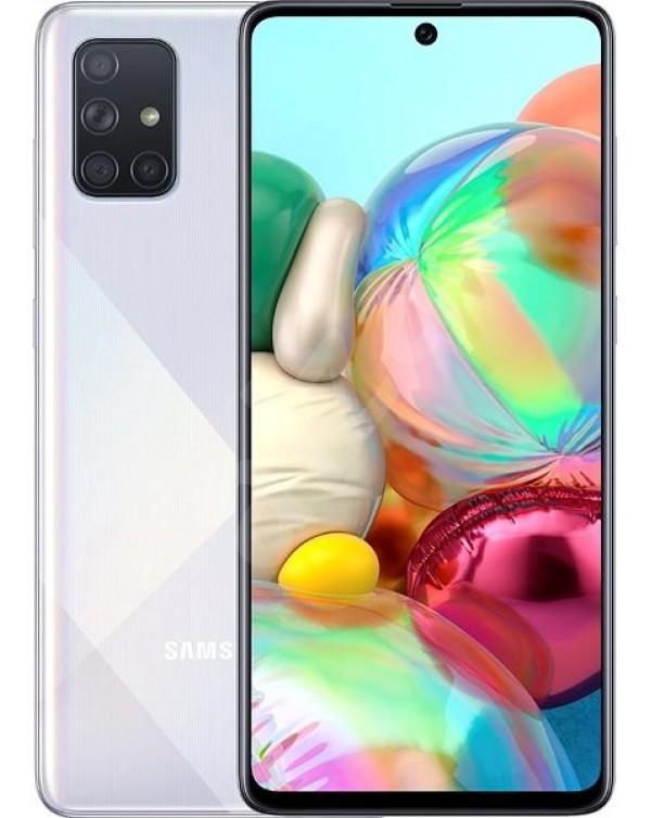 Galaxy A71 128GB New - Dual Sim - Unlocked - Crush Silver