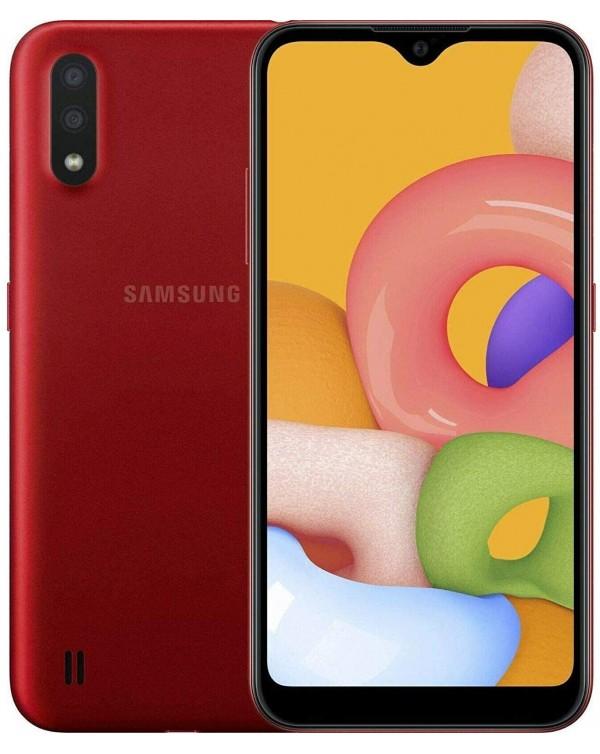 Samsung Galaxy A01 32GB New - Dual Sim - Unlocked - Red