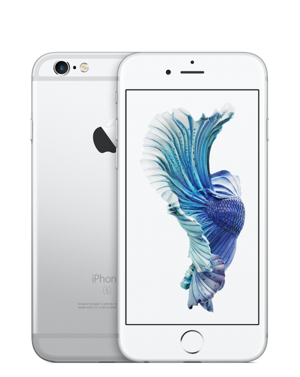 Apple IPhone 6S 32GB Silver (Pre-Owned)