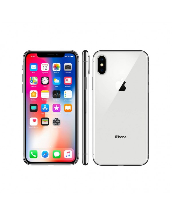 iPhone X 64GB Silver (Pre-Owned)
