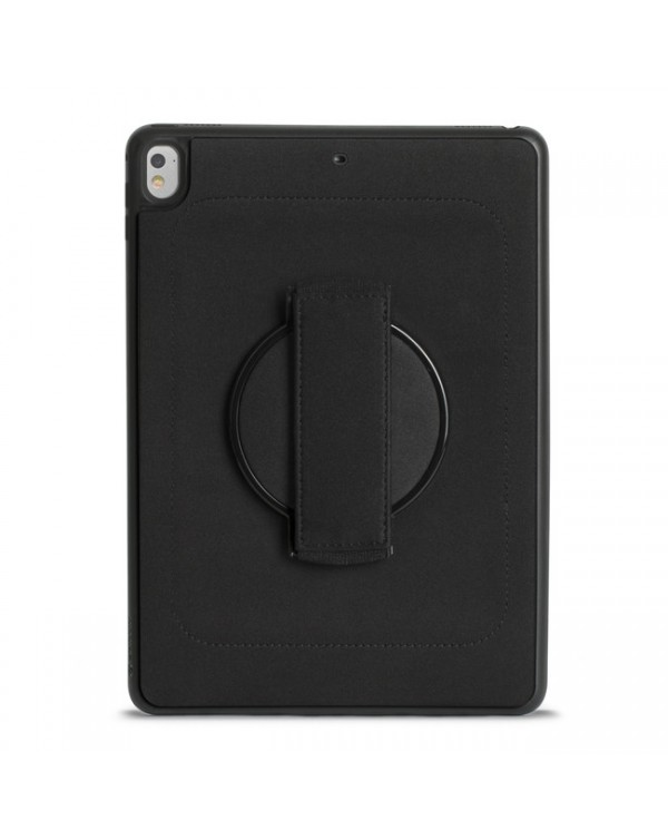 Griffin - AirStrap 360 Protective Case Black for iPad 9.7 2018/9.7 2017/Air 2/Air