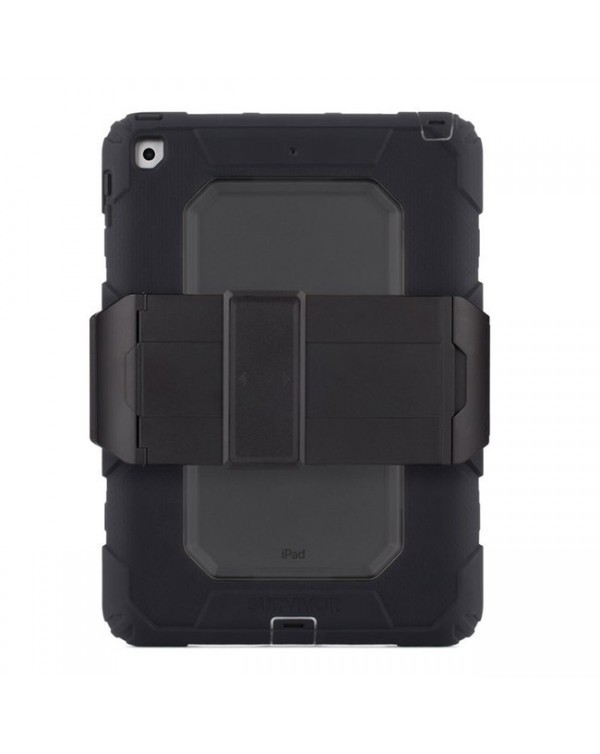 Griffin - Survivor All-Terrain Rugged Case Black for iPad 9.7 2018/iPad 9.7 2017