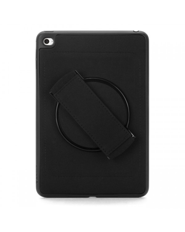 Griffin - Airstrap 360 Protective Case Black for iPad Mini 5/Mini 4