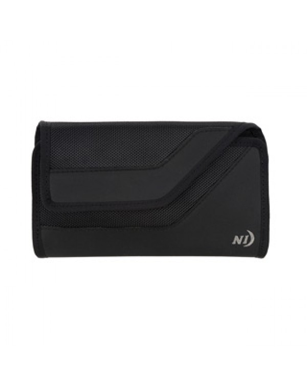 Universal Nite Ize Black Rugged Clip Case Sideways