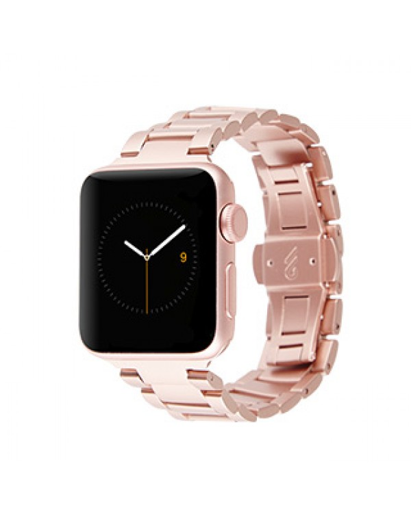 Apple Watch (Series 1,2,3,4,5) 40/38mm Case-Mate Rose Gold Metal Linked Watchband