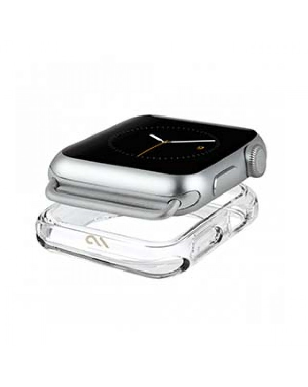 Apple Watch (Series 1,2,3,4,5) 42/44mm Case-Mate Clear Naked Tough Bumper