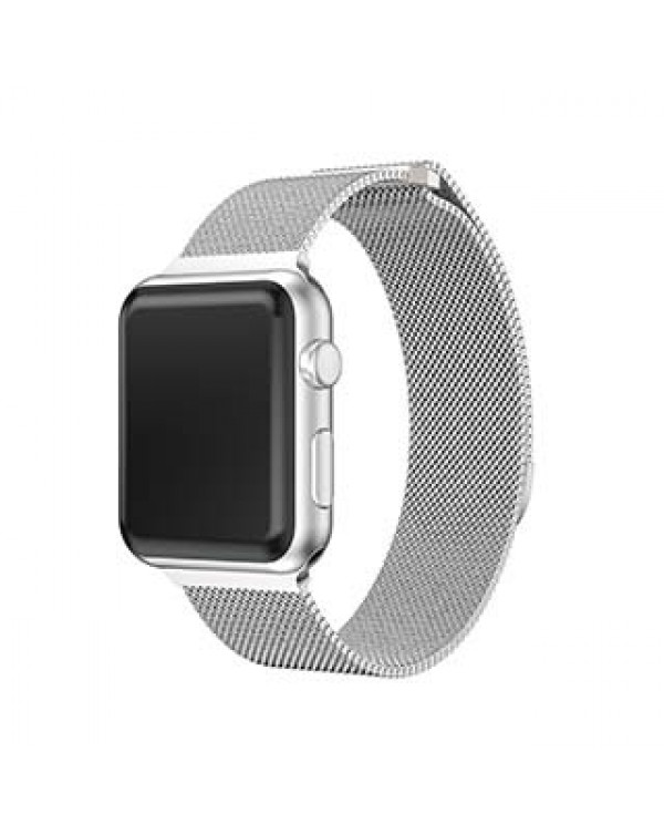 Apple Watch 44/42mm Uunique Silver Spectra Watch Band