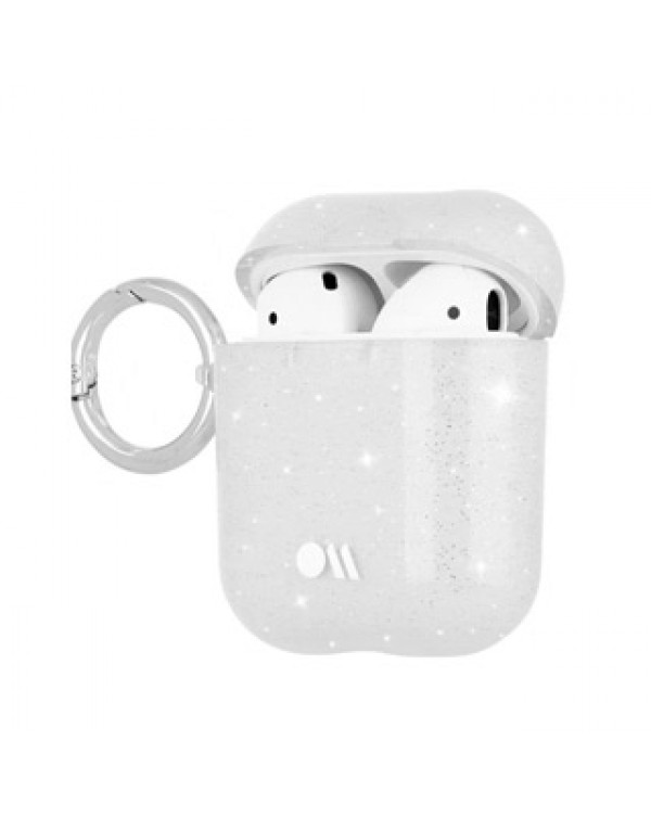 AirPods Case-Mate Clear Sheer Crystal Hook Ups Case
