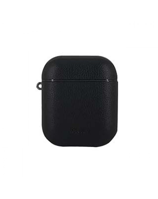 Uunique Black Future Protective Case for Apple AirPods w/ Travel Clipv