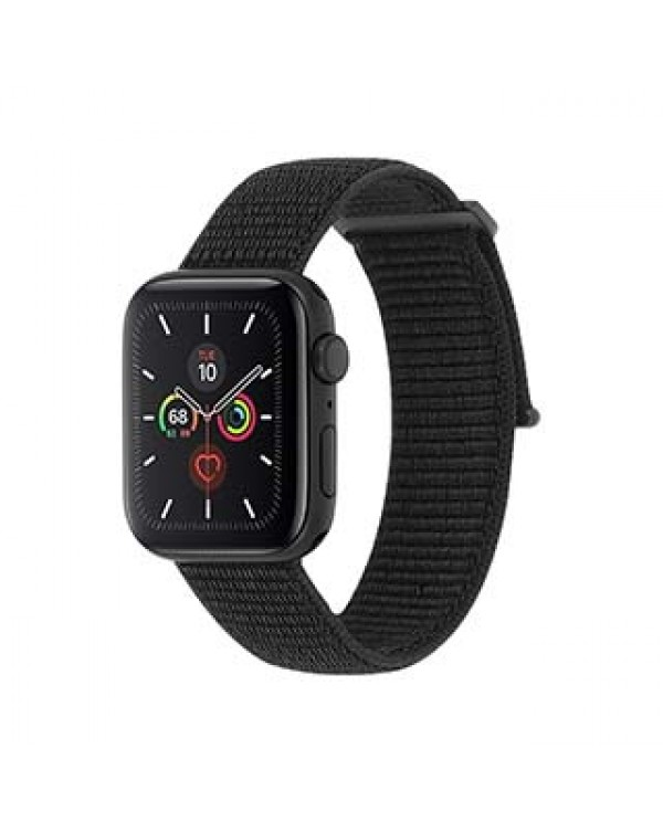 Apple Watch (Series 1,2,3,4,5) 42/44mm Case-Mate Black Nylon Band