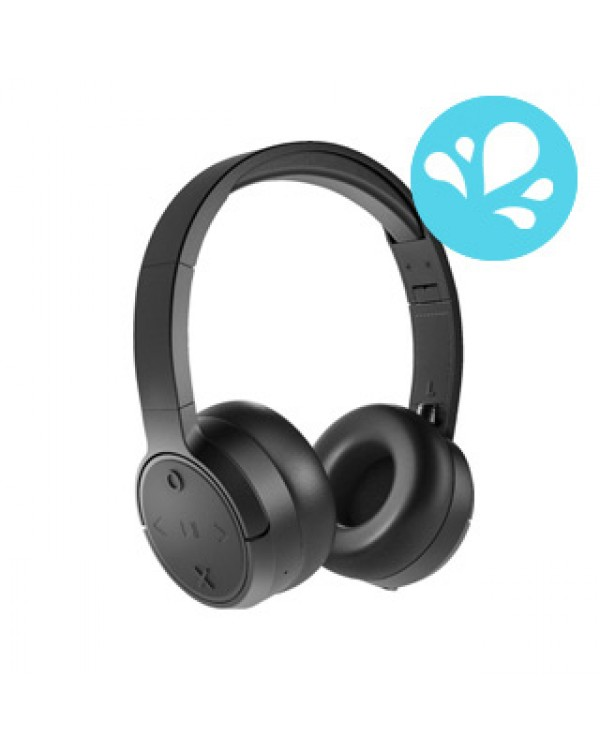 JAM Black Already There Bluetooth On-Ear Headphones
