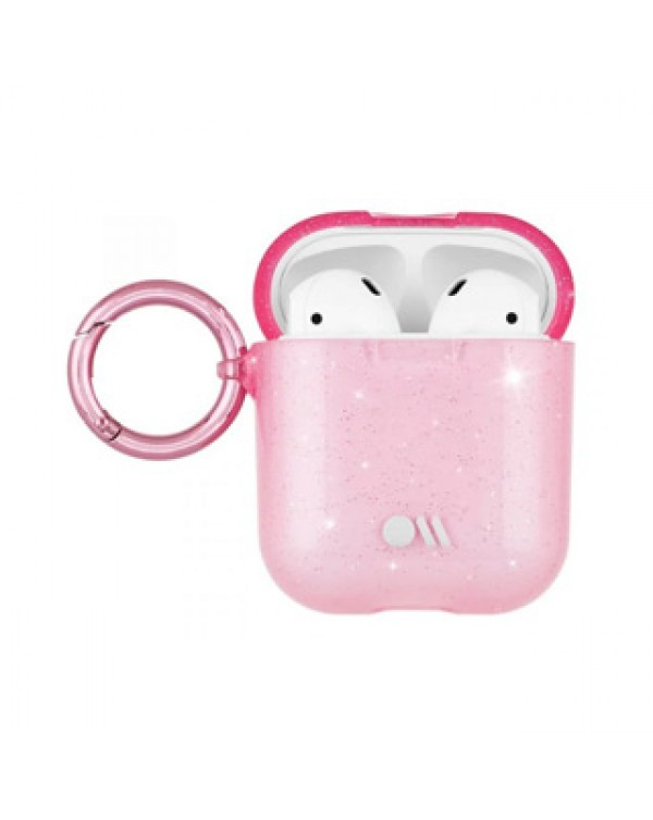 AirPods Case-Mate Blush Sheer Crystal Case