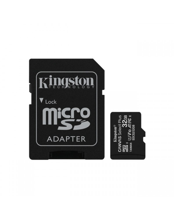 Kingston - 32GB microSDHC Canvas Select Plus Class 10 Flash Memory Card SDCS2