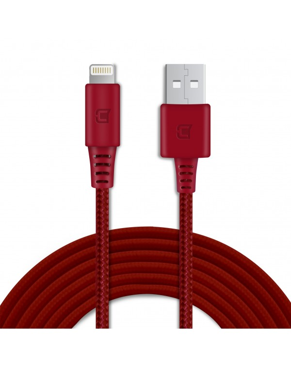 MFI Approved Braided Lightning Cable 5V 2.4Amp - 2 Meter