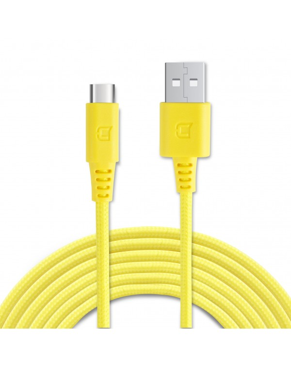 Rugged Braided USB Type C Cable - 2 Meter