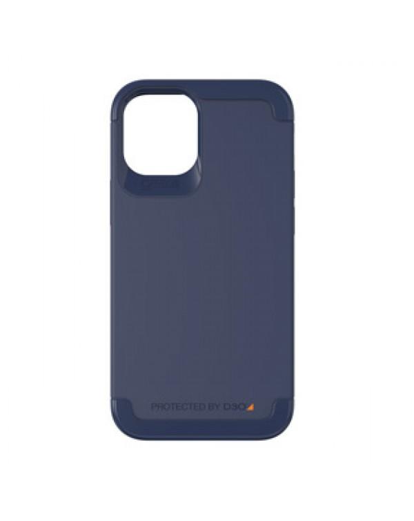 iPhone 12 Mini Gear4 D3O Navy Blue Wembley Case