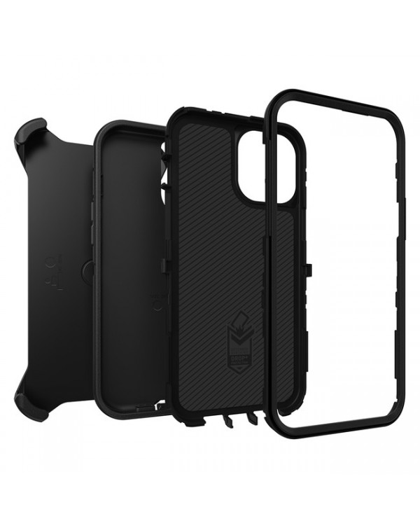 Otterbox - Defender Protective Case Black for iPhone 12 Pro Max