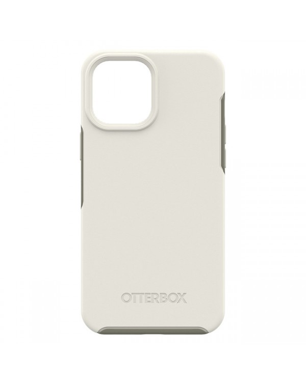 Otterbox - Symmetry+ with MagSafe Protective Case Spring Snow (White) for iPhone 12 mini