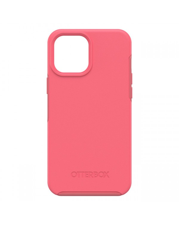 Otterbox - Symmetry+ with MagSafe Protective Case Tea Petal (Pink) for iPhone 12/12 Pro