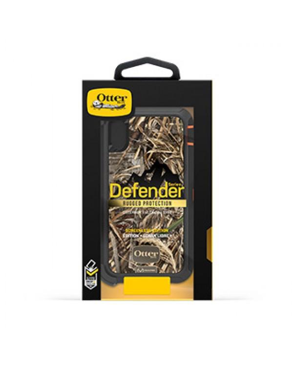 iPhone XR Otterbox Orange/Black Realtree (Max 5) Camo Defender Series case