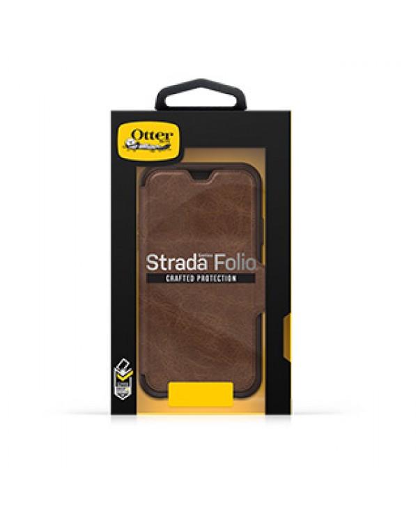 iPhone XR Otterbox Brown/Brown (Espresso) Leather Strada Folio case