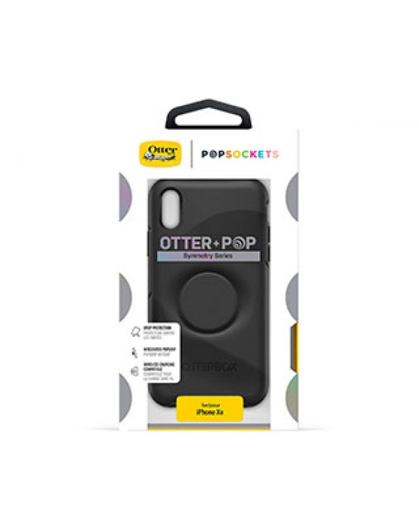 iPhone XR Otterbox + POP Black Symmetry Series Case
