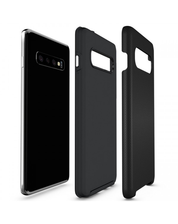 Blu Element - Armour 2X Case Black for Samsung Galaxy S10