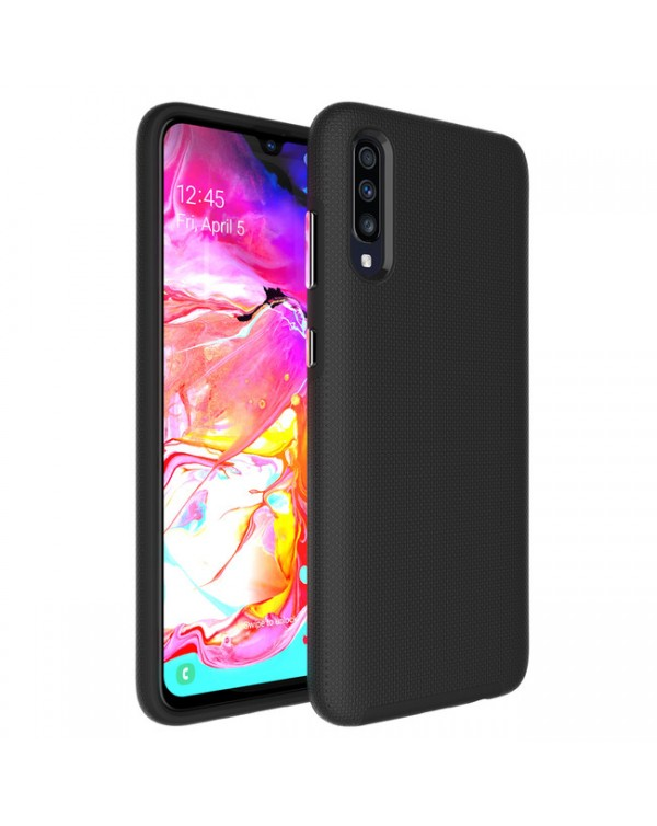 Blu Element - Armour 2X Case Black for Samsung Galaxy A70