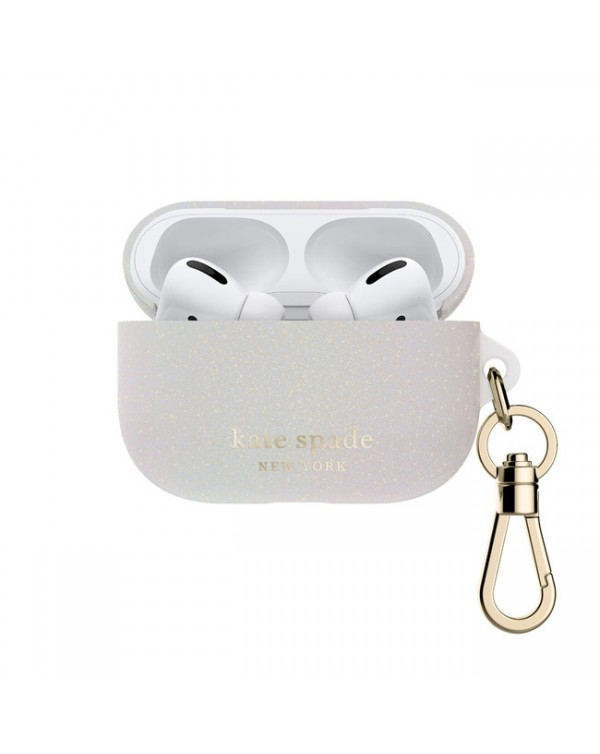 Kate Spade - Flexible Case White Glitter for AirPods Pro