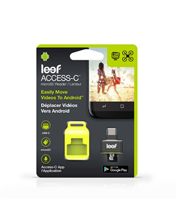 Leef Access Type-C Black MicroSD Card reader