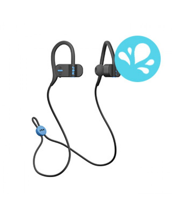 JAM Black Live Fast Bluetooth Over-Ear Clip Earbuds