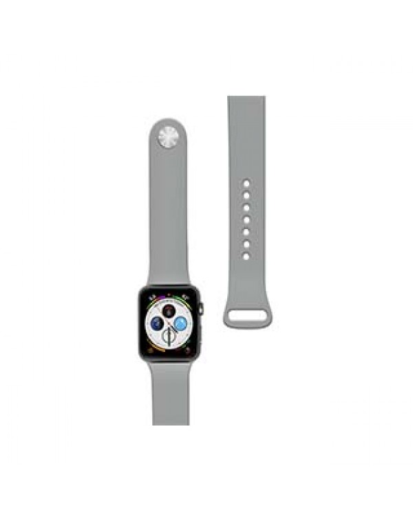 Apple Watch 40/38mm Naztech Grey (Concrete) Silicone Watch Band