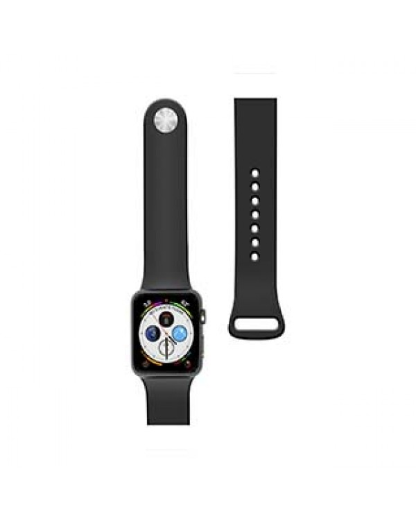 Apple Watch 40/38mm Naztech Black Silicone Watch Band