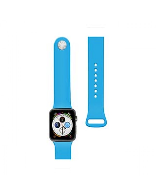 Apple Watch 40/38mm Naztech Blue Silicone Watch Band