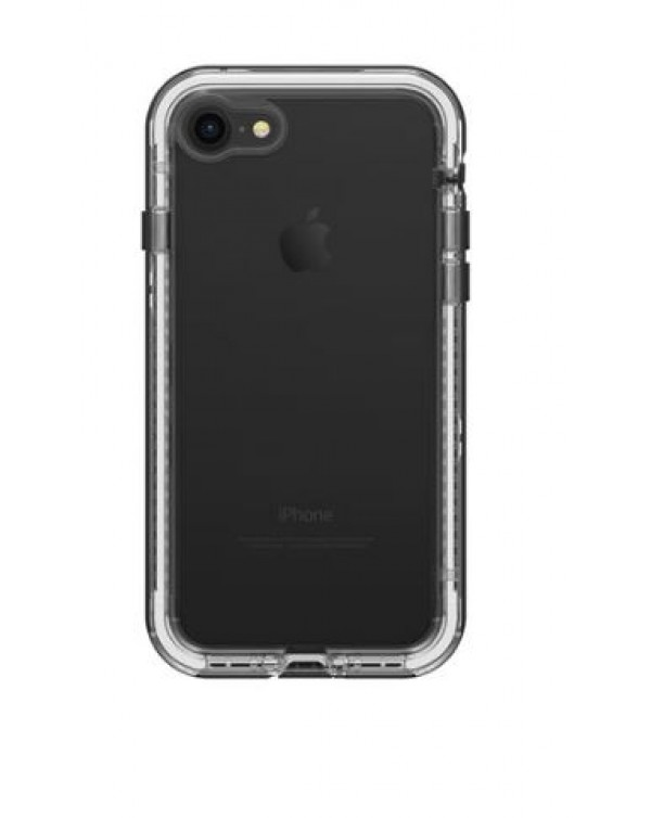 LifeProof - 7757190 Next iPhone 8/7 Black Crystal (Clear/Black)