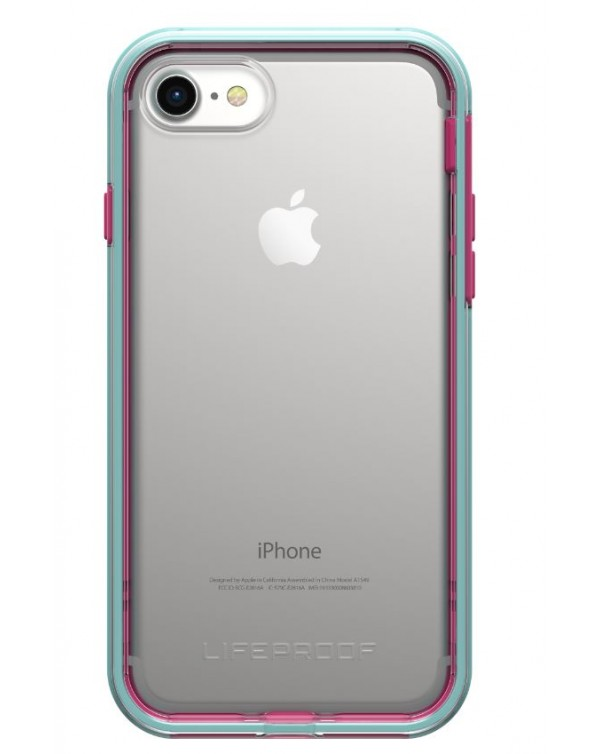 LifeProof - 7757406 Slam iPhone 8/7 Aloha Sunsset (Clear/Blue/Magenta)