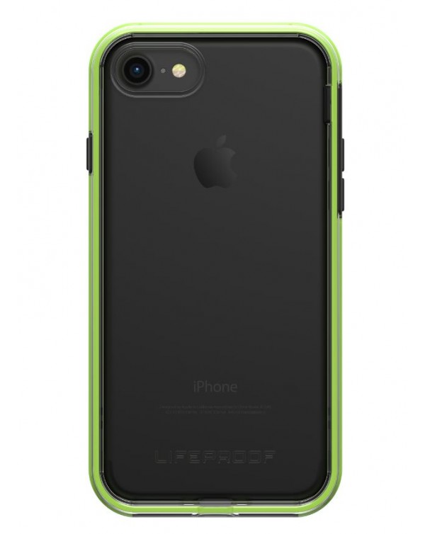 LifeProof - 7757405 Slam iPhone 8/7 Night Flash (Clear/Lime/Black)